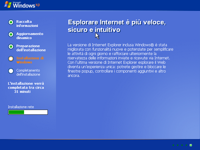 [Windows xp installazione con kvm]